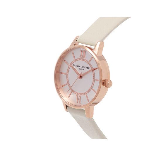 Wonderland Nude & Rose Gold Watch