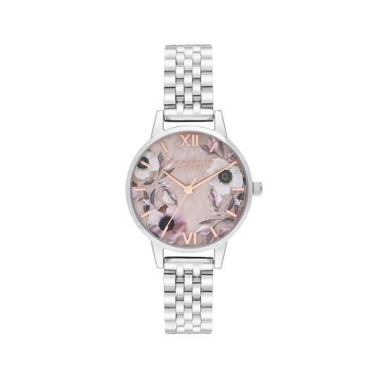 Midi Rose Quartz & Silver Bracelet