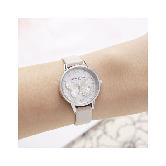 Lace Detail Midi Dial Watch