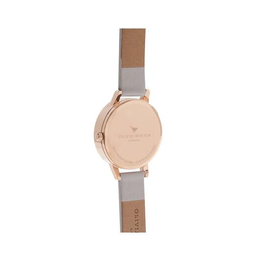3D Bee Blush Dial Blush & Rose Gold Watch