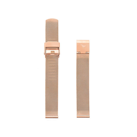 Midi Dial Ladies Mesh Bracelet Watch Strap