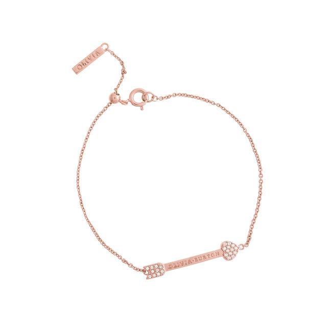 Classic Arrow Rose Gold Chain Bracelet