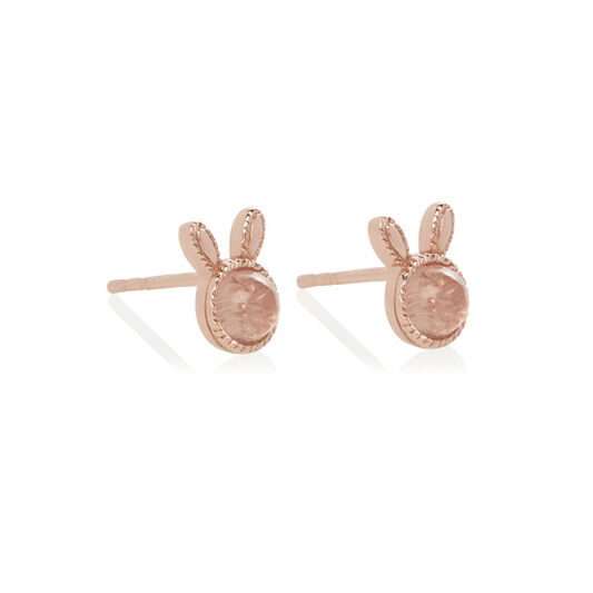 Bunny Gift Set Rose Gold & Pink Crystal