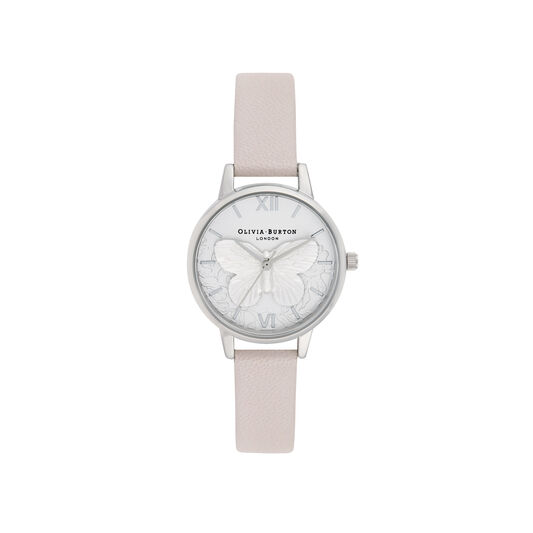Olivia Burton Lace Detail Midi Dial Watch