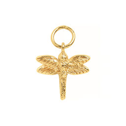 Dragonfly Huggie Charm