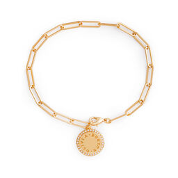 Bejewelled Classics Gold Chain Bracelet