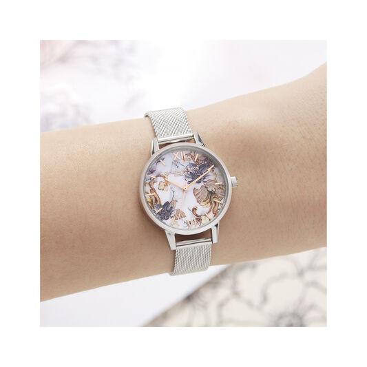 Olivia Burton Marble Florals Midi Dial Watch
