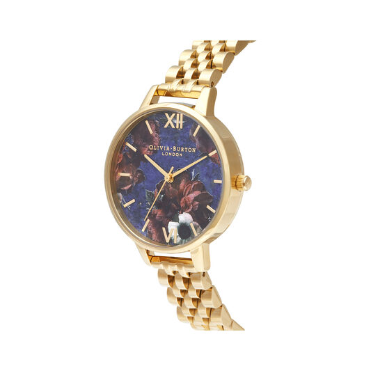 Demi Lapis Lazuli & Gold Bracelet