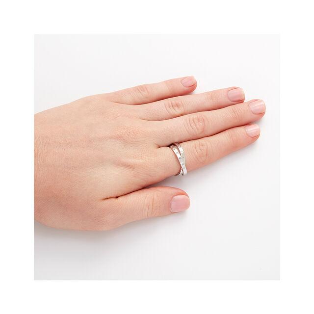 The Classics Interlink Ring Silver L