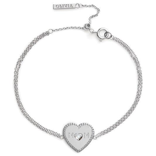 Made for Mom Bracelet Silver