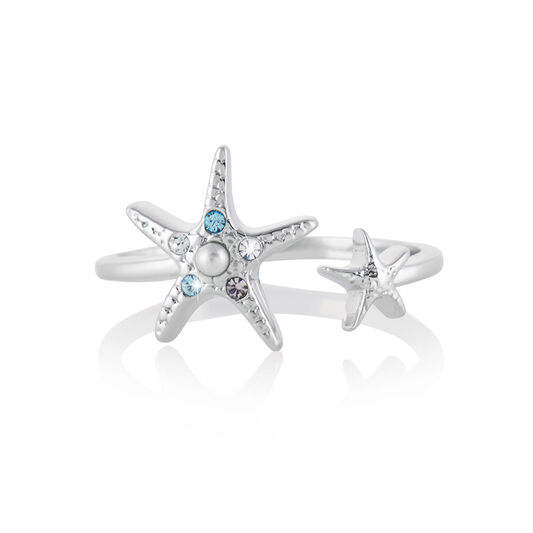 Starfish Silver Ring