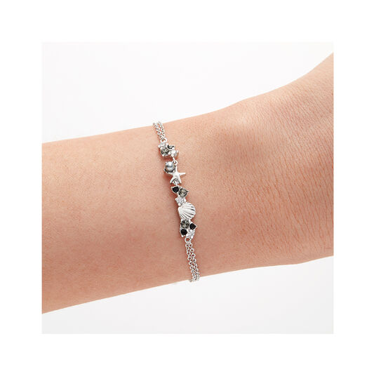 Under The Sea Chain Bracelet Silver
