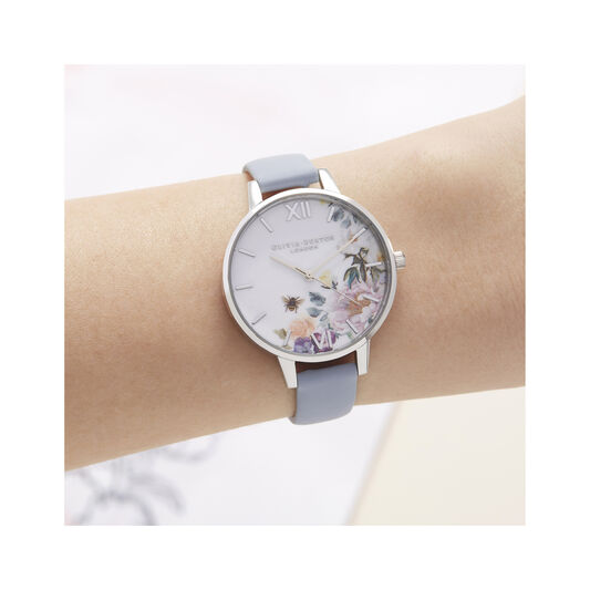 Enchanted Garden Demi Dial Watch