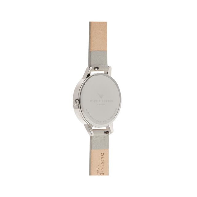 Grey Dial & Silver Watch