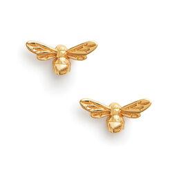 Lucky Bee Earrings Gold