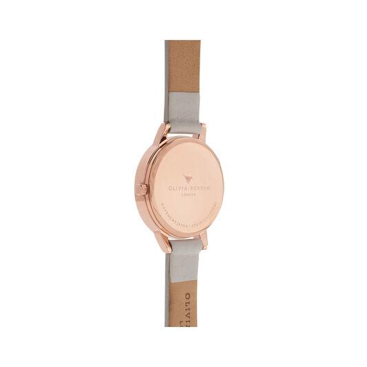 Lace Detail Blush & Rose Gold Watch