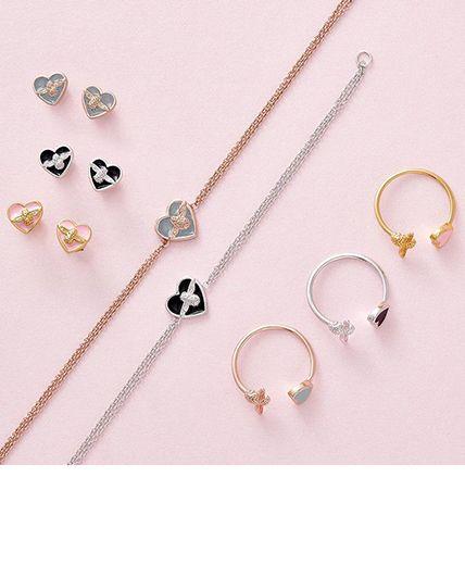 Women's colourful Bee Jewellery
