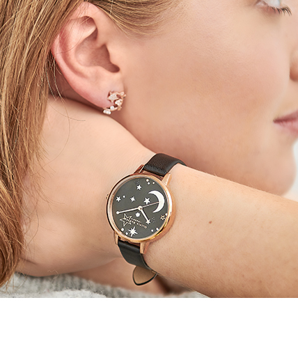 Women's Moon and Star Watches